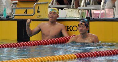 《游泳》穩定進步 黃國庭全中運再破1500公尺自由式全國紀錄