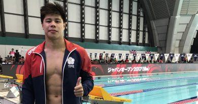 《游泳》朱宸平寫非體育生奇蹟 破全國只是起步