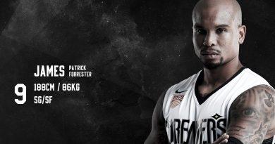 《籃球》帶著經驗協助球隊 夢想家的亞洲外援James Forrester