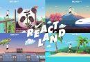 《路跑》跑者化身遊戲人物 在REACT LAND環遊世界
