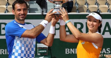 《法網》詹詠然榮獲混雙冠軍 生涯第2座大滿貫頭銜