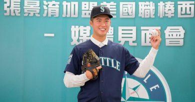 《棒球》嚮往大聯盟 張景淯追逐美夢剛開始