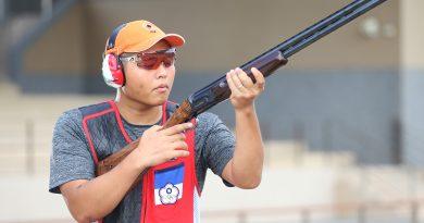 《射擊》楊昆弼新槍托老戰友加持 再射奧運不定向飛靶門票