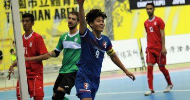 《足球》強碰亞洲王者伊朗 中華隊長陳敬玄破門