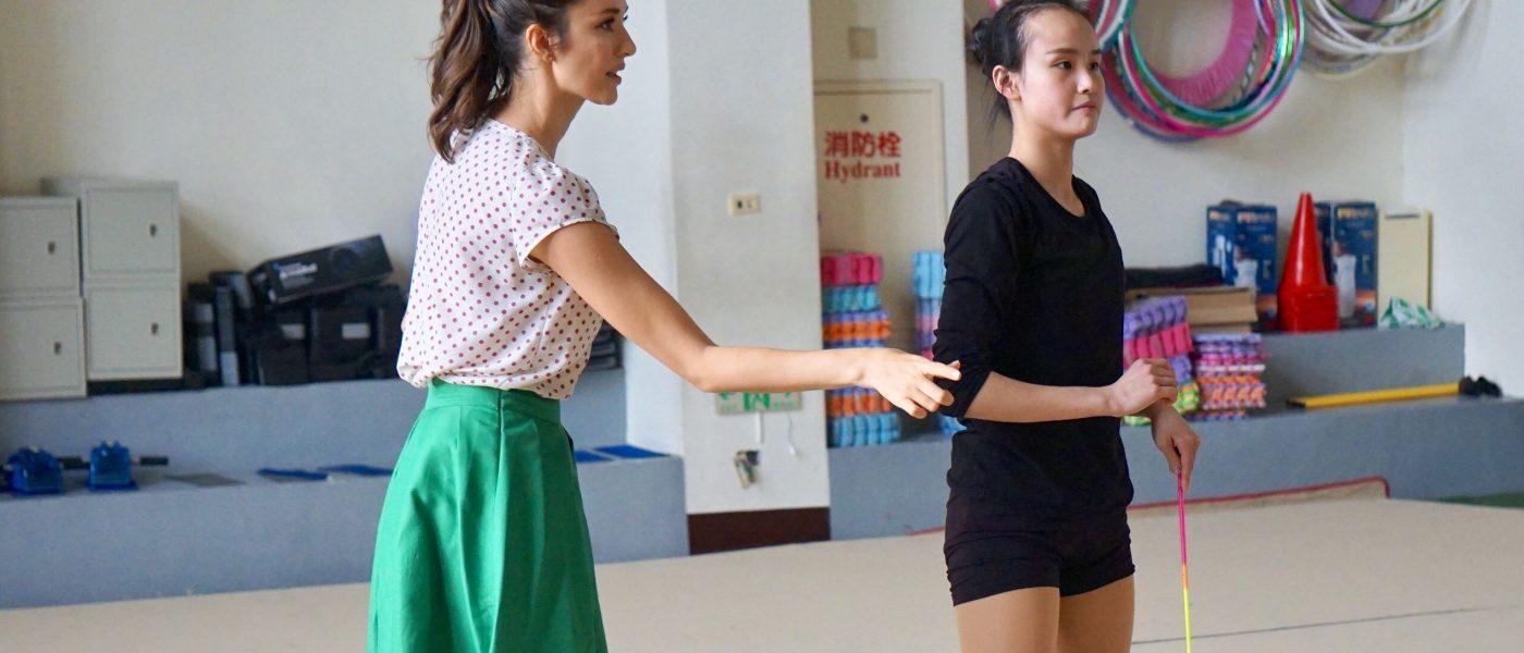 《體操》藝人瑞莎 從沒自信的雙魚 到韻律體操冠軍