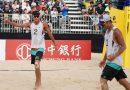 《沙灘排球》地主觀眾助威 王進如/謝雅仁勇闖亞巡賽4強
