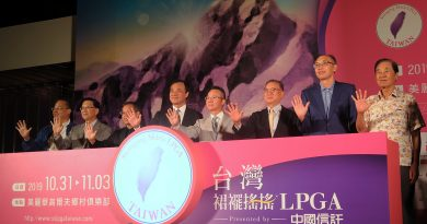 《高爾夫球》台灣裙襬搖搖LPGA十月底登場 力拚決賽日破五萬人觀賽