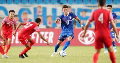 《足球》主場迎戰尼泊爾吞敗 陳柏良向球迷道歉