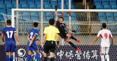 《足球》中華男足1比2惜敗約旦 潘文傑守門連對手教頭都稱讚