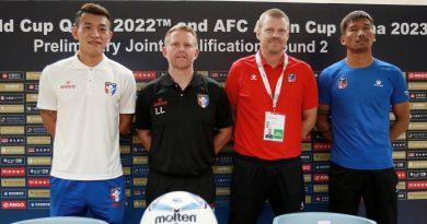 《足球》再對決尼泊爾 陳柏良:非贏不可的比賽
