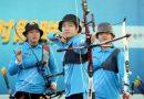 《射箭》彭家楙氣勢驚人 率台南隊在企業聯賽冠軍賽奪首勝