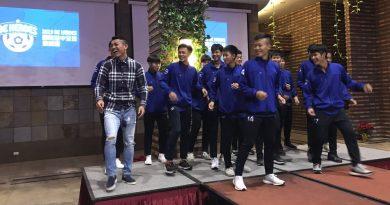 《足球》BE HEROES國際高中足球邀請賽 選手之夜各國文化交流