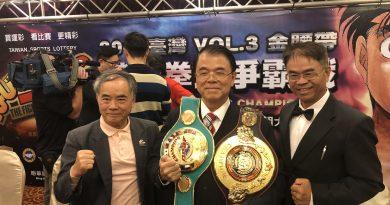 《拳擊》第一神拳發威 台灣職業拳王賽奪勝