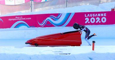 《冬青奧》林昱馨平常心參賽 雪車成績進步發揮穩定