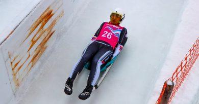 《冬青奧》教練雪橇助威 楊仕勛勇闖冬青奧