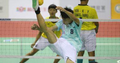 《藤球》2020國際移工藤球王爭霸戰 中華藍踢出泰國隊影子
