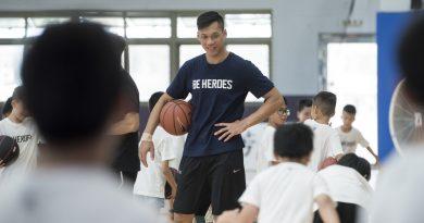 《籃球》BE HEROES 籃球訓練營台中場 學員年年參加 挑戰極限 黃金世代伴隨一起成長
