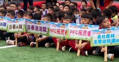 《足球》桃園市幼兒足球元年計畫正式啟動 幼兒足球錦標賽超過300名球員參加