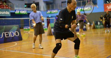 《羽球》第49屆第清晨盃開打 90歲阿公阿嬤大展身手