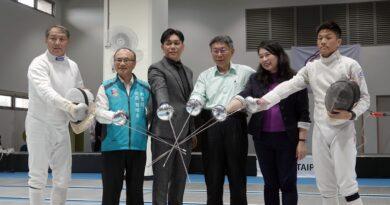 《擊劍》中正高中、台灣擊劍大師協會簽約 推廣擊劍運動發展