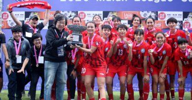 《足球》搶下木蘭聯賽盃冠軍 花蓮女足本季大豐收