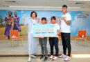《體壇》台灣世界展望會攜手方莞靈、江念欣、陳奎儒 邀請社會大眾資助